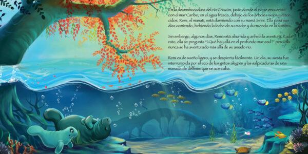 Remi page 1 600x300 - Remi El Manatí Perdido